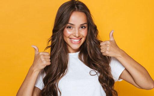 an girl smiling | Whites Dental